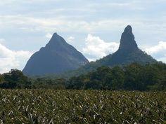 Glass House Mountains, Queensland, Australia #AustraliaItsBig