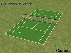 /Mod The Sims - The Tennis Collection Set