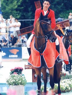 Nicola Philippaerts - not pony club safe but he can do whatever he wants!