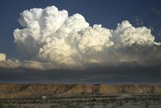 Massive cumulus formation, Terlingua, TX, early May. Morphed into full blown anvil storm cloud.