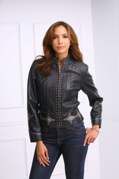 Rusty Spur Couture Cripple Creek Stitch Pleated Jacket - LL35284, ,