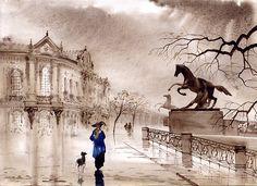 St. Petersburg Iii Print By Svetlana And Sabir Gadghievs