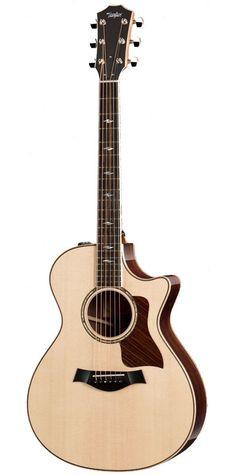 Taylor Grand Concert Acoustic Electric Guitar with Guitar Pics, Guitar Art, Music Guitar, Cool Guitar, Playing Guitar, Fender Acoustic Guitar, Fender Guitars, Taylor Acoustic Guitar, Digital Piano Keyboard