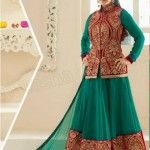 Natasha Couture has exposed designer trendy Bollywood Celebrity Preity Zinta Anarkali Suits Designs Designs 2014 for girls.