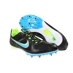 Nike Zoom Rival MD 6 Black White Blue Glow