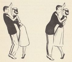 Samba moves from Betty White's Teen-Age Dance Book, 1953