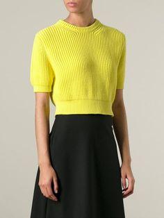 Msgm Cropped Sweater - Biffi - Farfetch.com