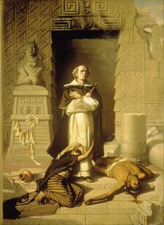 Félix Parra Fray Bartolomé de las Casas - Hledat Googlem