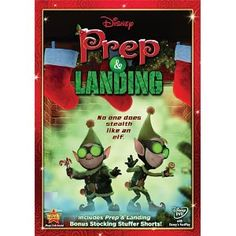 Prep and Landing- my FAVORITE christmas movie!!!!  I know it's not a classic but still...