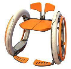 Mobi Electric Folding Wheelchair by Jack Martinich. Monash Uni, Caulfield.  Posted to Tuvie | http://www.tuvie.com