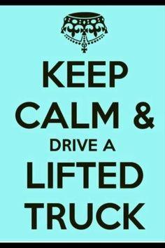 I wish I had a truck lifted :/