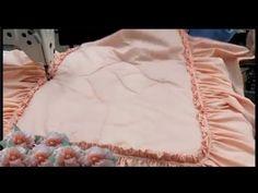 كيفية خياطة مفرش سرير - Making Bedspread