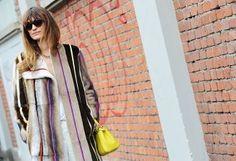 Caroline de Maigret. Tommy Ton Shoots Street Style at the Fall 2014 Fashion Shows