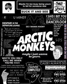 Arctic Monkeys montage made by me. Follow @gustavobsimas on FB.