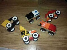 Samochody drewniane IKEA 5 szt. Warszawa - image 1