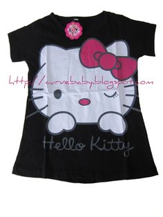 Girl Hello Kitty Casual T-Shirt    Size: 12,14  Age: 6,7    Price : $8.50