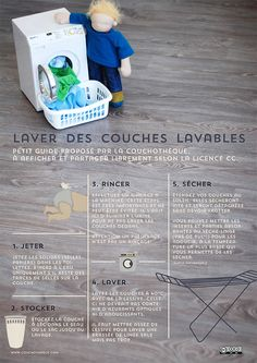Couches lavables : guide de lavage