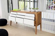 Cassettiera Naröd, La cassettiera Naröd è una bellissima soluzione per riporre oggetti arredando allo stesso tempo con un elegante stile Scandinavo.