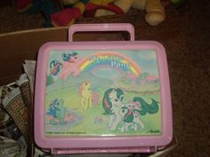 1980s My little pony lunch box by Aladdin by LeslieSimplyDevine, $13.00