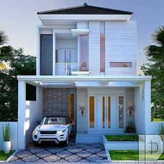 Classic House Design, Simple House Design, Modern House Design, Duplex House Plans, Bungalow House Plans, House Floor Plans, Home Building Design, Building A House, Beautiful Modern Homes