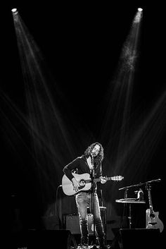 Chris Cornell performs at Teatro Bradesco on December 8 2016 in Rio de Janeiro Brazil - RIP Chris Cornell, Soundgarden frontman, dies aged 52.. Representative for singer, who helped take the grunge sound of the 1990s into the mainstream, said his death was sudden and unexpected