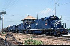 RailPictures.Net Photo: MP 3240 Missouri Pacific EMD SD40-2 at Fort Worth, Texas by John Shine