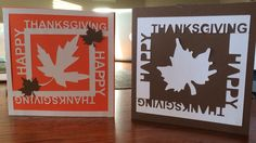 Thanksgiving Silhouette Cameo