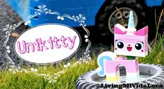 How to build Unikitty from The LEGO Movie with video! -- livingmividaloca.com #TheLEGOMovie