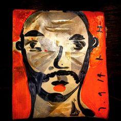 Ruan Hoffman tile (self-portrait)