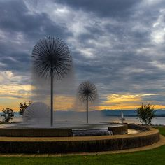 Romanshorn, Thurgau ☑ Geography, Switzerland, Countryside, Fountain, Around The Worlds, Lost, Landscape, Nature, Beautiful