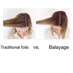 Different strokes for different folks || Depending on how you like a Colour to grow out This just gives you an idea on why Balayage has been so popular as a soft growing out Colour Image via @guy_tang Also ensure you book the correct service for delegation of our stylists time and we strongly recommend adding @olaplexau to your service for continued hair Health  #bookonline #revlonprofessionalcolour #olaplexau #olaplex #terrigal #allurehb by allurehairbar