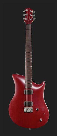 Relish Guitars Bordeaux Jane #thomann #red #ladyinred #guitar www.thomann.de