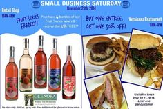 Glenora Wine Cellars Small Business Saturday November 29th, 2014 #glenorawine #flxwine #smallbusinesssaturday