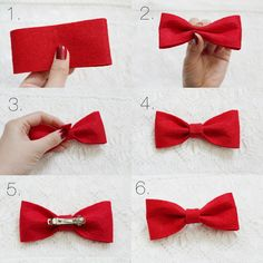 These are the BEST diy felt hair bow. Download and Save this ideas about The 20 Best Ideas for Diy Hair Clippies  Now