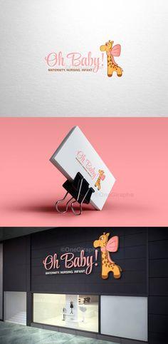 Boutique Decor, Boutique Logo, Baby Boutique, Hotel Boutique, Boutique Design, Business Card Logo, Business Card Design, Logo Infantil, Baby Store Display