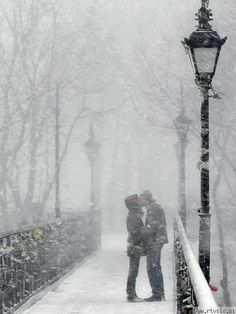 El frio del clima, y el calor del sentimiento.