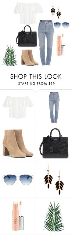 """""""op"""" by natalieordnz on Polyvore featuring Valentino, Vetements, Yves Saint Laurent, Christian Dior and Nika"""