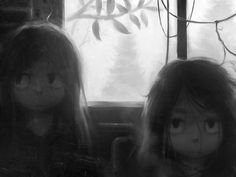Sick Times by Klaufir.deviantart.com on @deviantART Kinda reminds me of Miyazaki's 'My Neighbour Totoro'