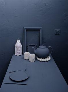 Maria Grossmann Styling + Fotografie - Nonfood - Das blaue Zimmer