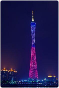 Canton Tower, China.