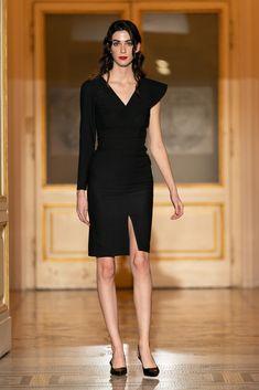 #lbd  #littleblackdress #orovicafashion #asymmetric #collar #elegant #cocktail Runway Fashion, Fashion Show, Womens Fashion, Every Woman, Lbd, Timeless Fashion, Cocktail, Elegant, Black