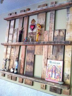 18 Creative Home Arrangements with Old Pallets | Design & DIY Magazine