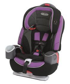Graco Black & Purple Nautilus 65 LX Car Seat   zulily