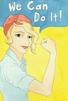 Items similar to Rosie the Riveter Postcard on Etsy Ww2 Posters, Rosie The Riveter, We Can Do It, American Women, Winnie The Pooh, Disney Characters, Fictional Characters, Disney Princess, Etsy
