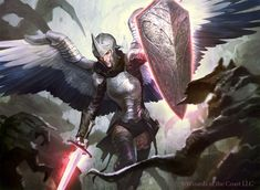 Angelic Warriors Fan Art Images   Armored Dragons