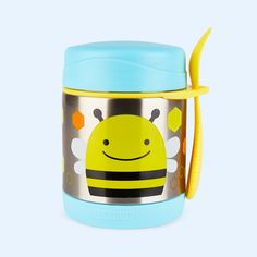 Bee Skip Hop Zoo Insulated Food Jar