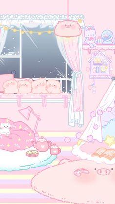 Million Share: kawaii wallpaper - Million Share: kawaii wallpaper - Wallpaper Sky, Wallpaper Kawaii, Cute Pastel Wallpaper, Anime Scenery Wallpaper, Aesthetic Pastel Wallpaper, Aesthetic Wallpapers, Disney Wallpaper, Pink Aesthetic, Aesthetic Drawing