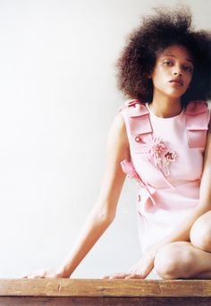 """bienenkiste:  """"The Obsessions"""". Aya Jones by Harley Weir for Self Service Fall 2015"""