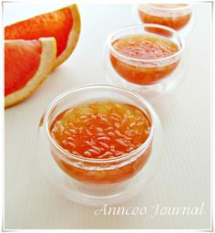 Anncoo Journal - Come for Quick and Easy Recipes: Desserts Refreshing Desserts, Skinny Recipes, Skinny Meals, Easy Recipes, Asian Desserts, Home Chef, Food Preparation, Quick Easy Meals, Grapefruit