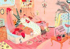 Mouni Feddag. Artists on tumblr